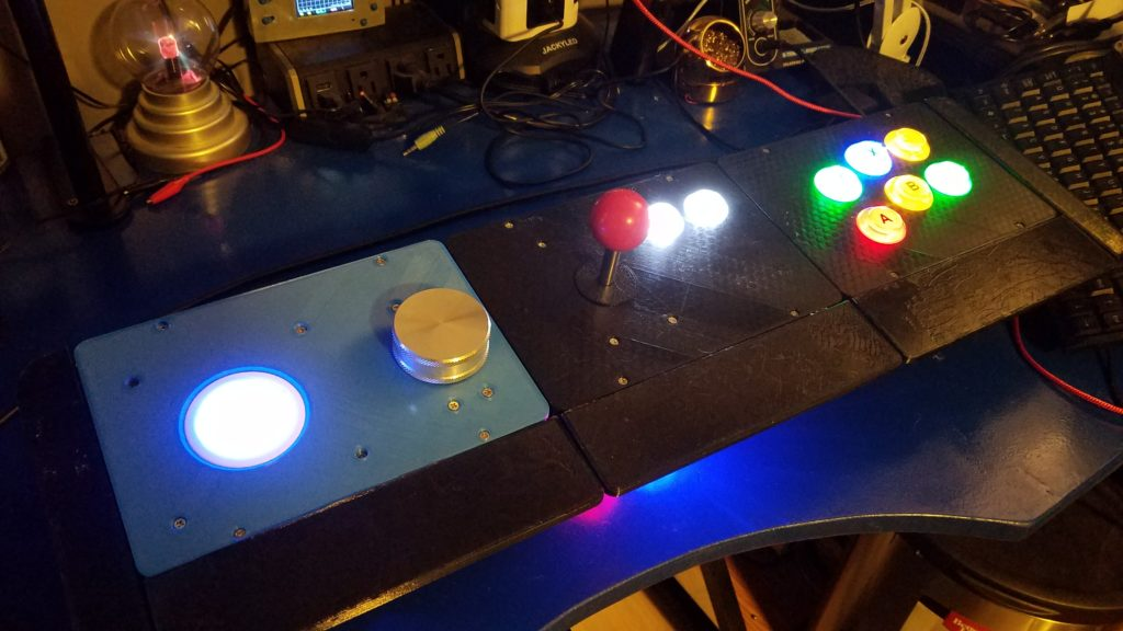 OpenCADE with Trackball and Spinner